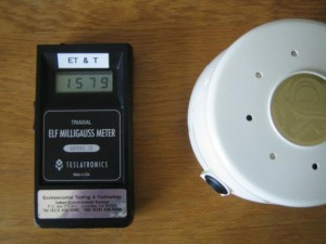 air filtration device gives off high emf levels