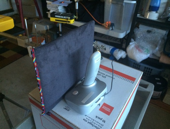 rf radiation shielding pad between ipad and phone